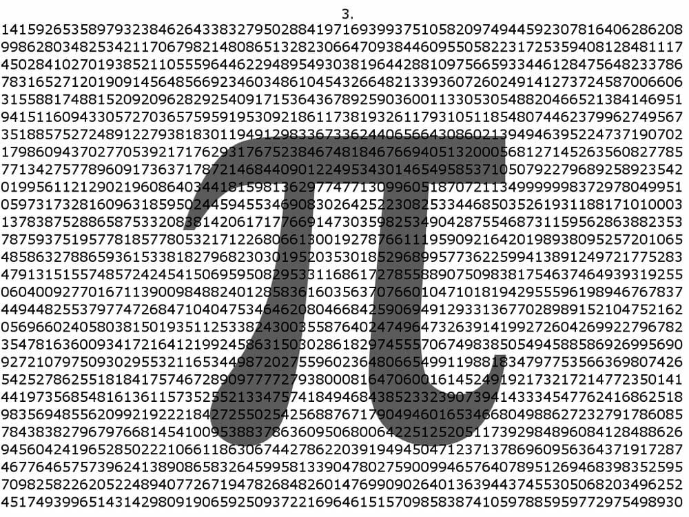 Happy Pi Day – March 14th