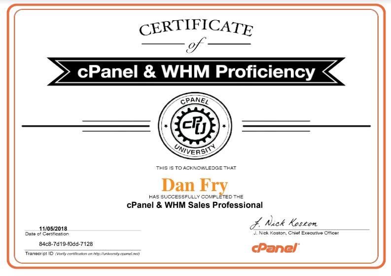 cPanel WHM Sales Pro