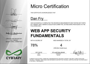 web app fundamentals